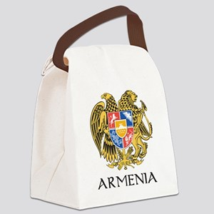 Armenian Coat of Arms Canvas Lunch Bag