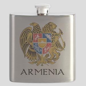 Armenian Coat of Arms Flask