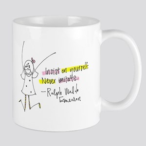 Insist on Yourself Mug