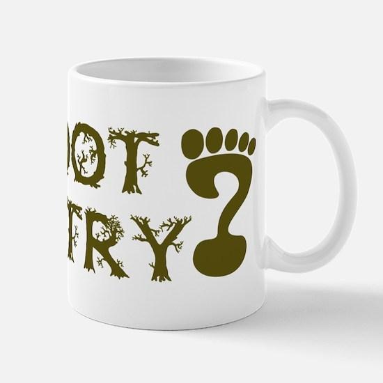 Bigfoot Country Mug