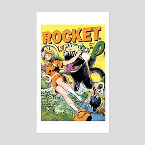 Rocket Comics #42 Sticker (Rectangle)