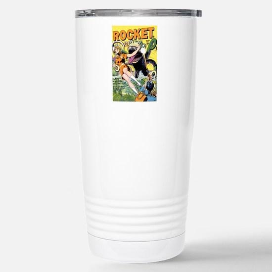 Rocket Comics #42 Stainless Steel Travel Mug