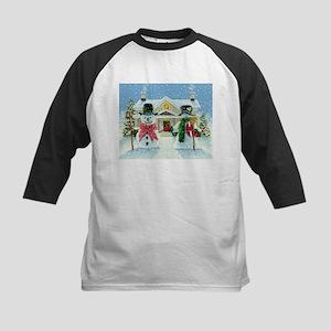 American Snowman Gothic Kids Baseball Jersey
