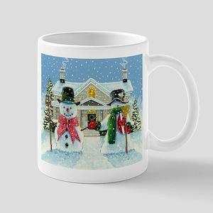 American Snowman Gothic Mug