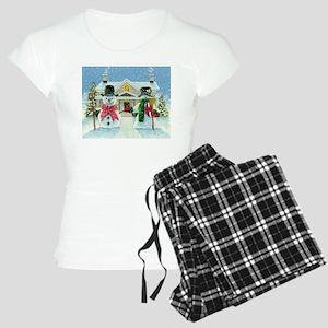 American Snowman Gothic Women's Light Pajamas