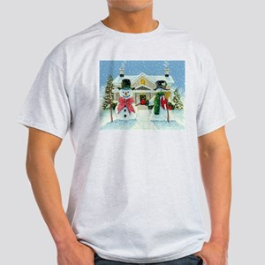American Snowman Gothic Light T-Shirt