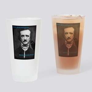 Poe Boy Drinking Glass