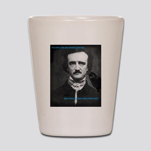 Poe Boy Shot Glass