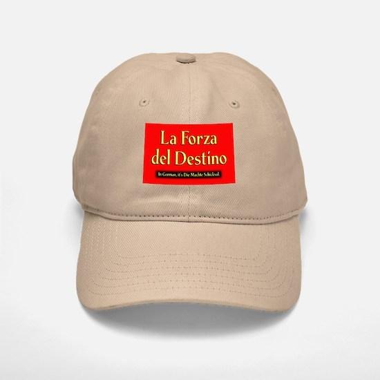 La Forza del Destino Khaki Baseball Baseball Cap