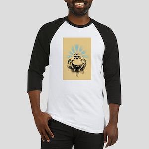 Laughing Buddha with Coffee Baseball Jersey