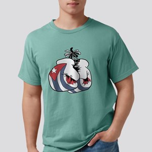 Boxing Cuba Mens Comfort Colors Shirt