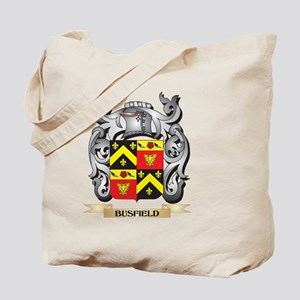 Busfield Family Crest - Busfield Coat of Tote Bag