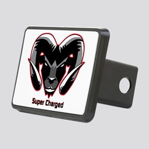 Super Charged Rectangular Hitch Cover