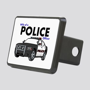 Police Officer Wife Rectangular Hitch Cover
