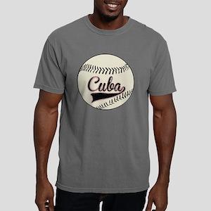 Cuba Baseball Mens Comfort Colors Shirt
