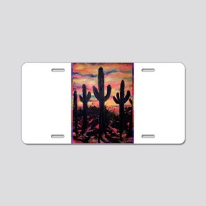Desert, southwest art! Saguaro cactus! Aluminum Li