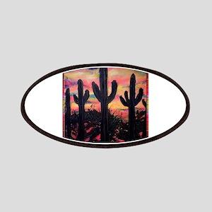 Desert, southwest art! Saguaro cactus! Patches