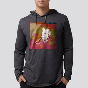 Rabbit Towel Mens Hooded Shirt