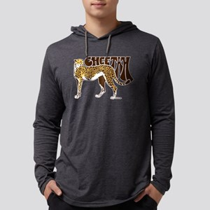 Cheetah Mens Hooded Shirt