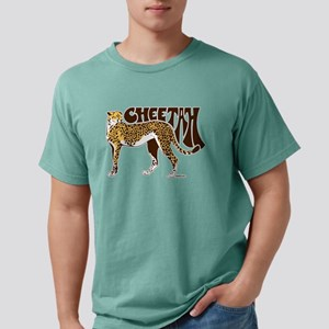Cheetah Mens Comfort Colors Shirt