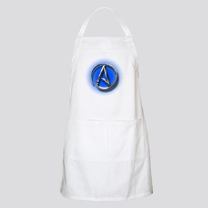 Atheist Logo (blue) Apron