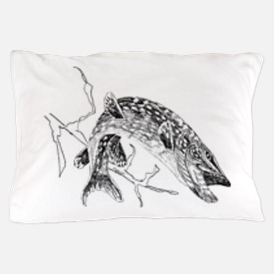 Northern Pike Pillow Case