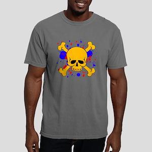 paintsplashskull Mens Comfort Colors Shirt