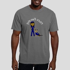 police-black-dark Mens Comfort Colors Shirt