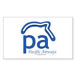 logo1 Sticker (Rectangle 50 pk)