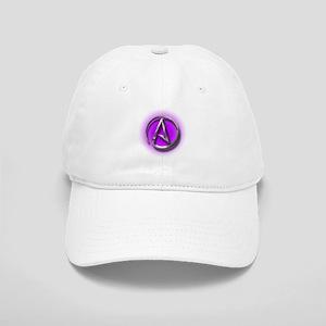 Atheist Logo (purple) Cap