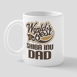Shiba Inu Dad Gift Mug
