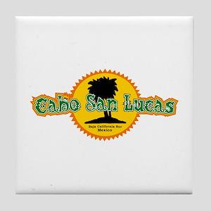 Cabo San Lucas Sun Tile Coaster