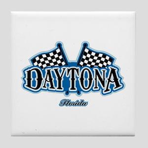 Daytona Flagged Tile Coaster