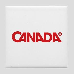 Canada Styled Tile Coaster