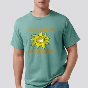 Sunshine - Transparent Mens Comfort Colors Shirt