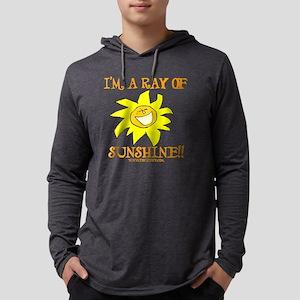 Sunshine - Transparent Mens Hooded Shirt