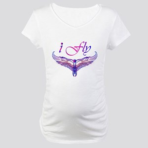 I believe I can fly, iFly Maternity T-Shirt