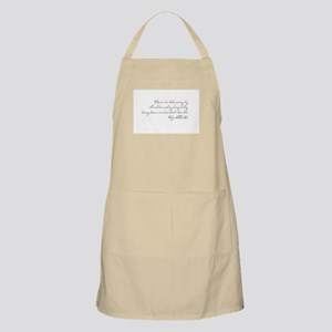 Deep in Darkness Apron