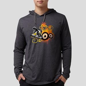 Official DJ Tutor Mens Hooded Shirt