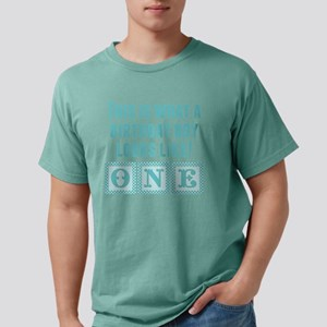 What A Birthday Boy Look Mens Comfort Colors Shirt