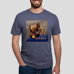 Carbs Are My Life Mens Tri-blend T-Shirt