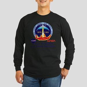 Last Flight of Discovery Long Sleeve Dark T-Shirt