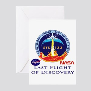 Last Flight of Discovery Greeting Cards (Pk of 10)