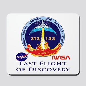 Last Flight of Discovery Mousepad