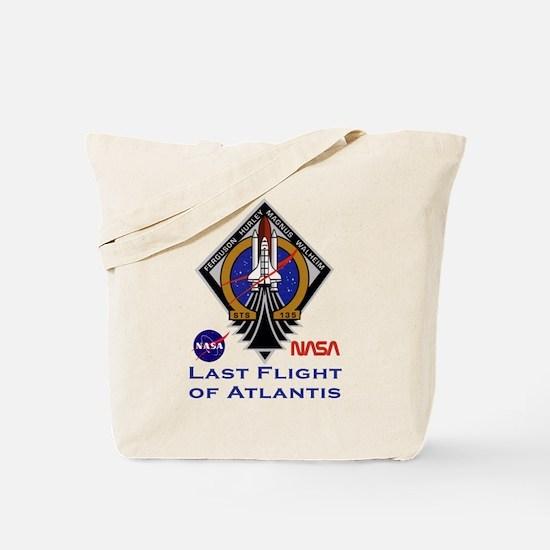 Last Flight of Atlantis Tote Bag