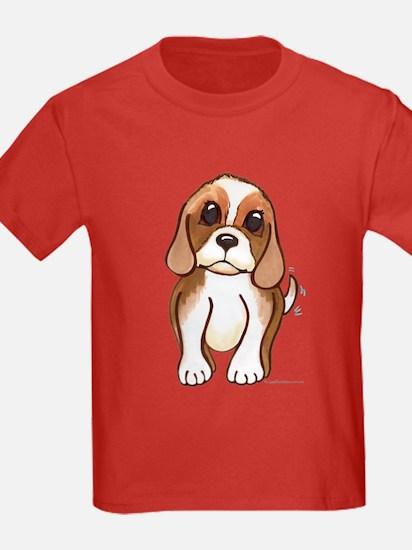 Cute beagle pup T