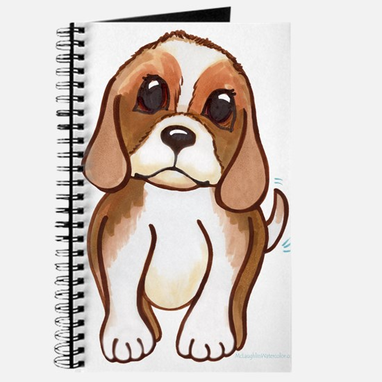 Cute beagle pup Journal