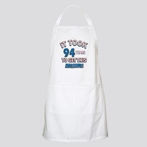 Awesome 94 year old birthday design Apron
