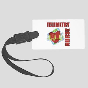 Telemetry Nurse Large Luggage Tag