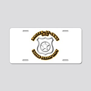 Navy - Rate - MA Aluminum License Plate